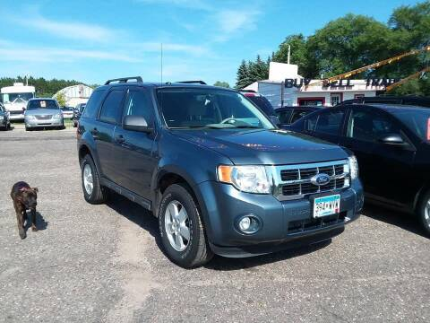 2010 Ford Escape for sale at Affordable 4 All Auto Sales in Elk River MN