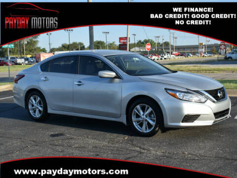 2018 Nissan Altima for sale at Payday Motors in Wichita And Topeka KS