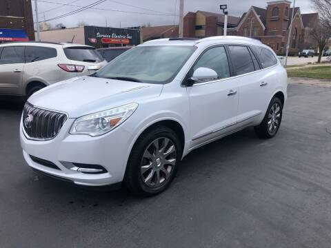 2017 Buick Enclave for sale at N & J Auto Sales in Warsaw IN