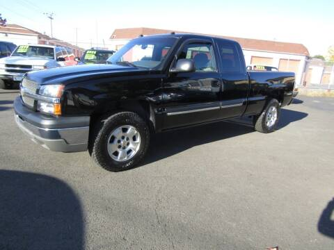 2004 Chevrolet Silverado 1500 for sale at ARISTA CAR COMPANY LLC in Portland OR