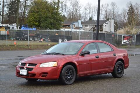 2004 Dodge Stratus for sale at Skyline Motors Auto Sales in Tacoma WA