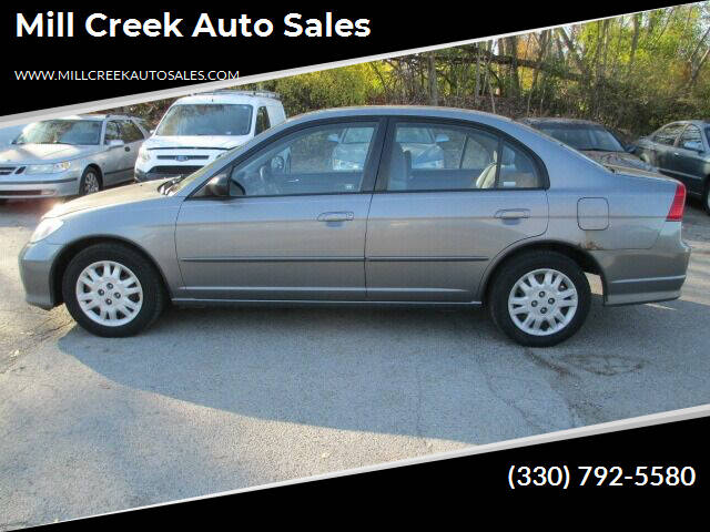 2004 Honda Civic for sale at Mill Creek Auto Sales in Youngstown OH