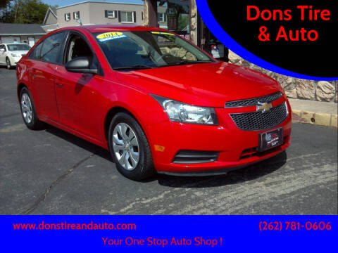 2014 Chevrolet Cruze for sale at Dons Tire & Auto in Butler WI