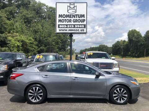 2016 Nissan Altima for sale at Momentum Motor Group in Lancaster SC