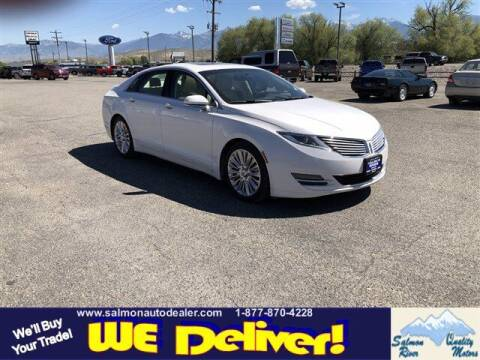 2013 Lincoln MKZ for sale at QUALITY MOTORS in Salmon ID