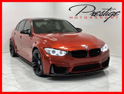 2017 BMW M3 for sale at Prestige Motorsport in Rancho Cordova CA