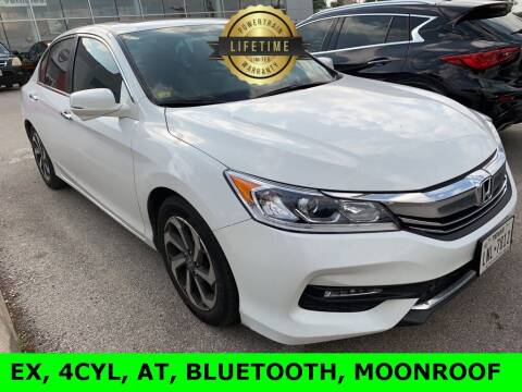 2016 Honda Accord for sale at Nissan of Boerne in Boerne TX