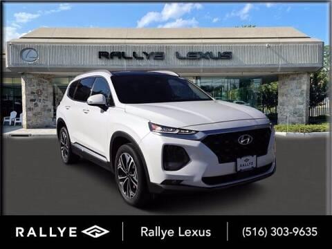 2019 Hyundai Santa Fe for sale at RALLYE LEXUS in Glen Cove NY