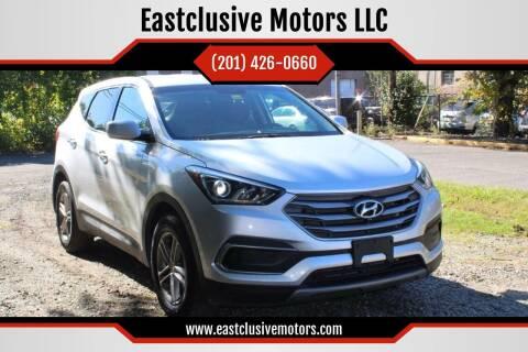 2018 Hyundai Santa Fe Sport for sale at Eastclusive Motors LLC in Hasbrouck Heights NJ