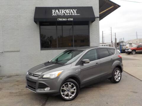 2013 Ford Escape for sale at FAIRWAY AUTO SALES, INC. in Melrose Park IL