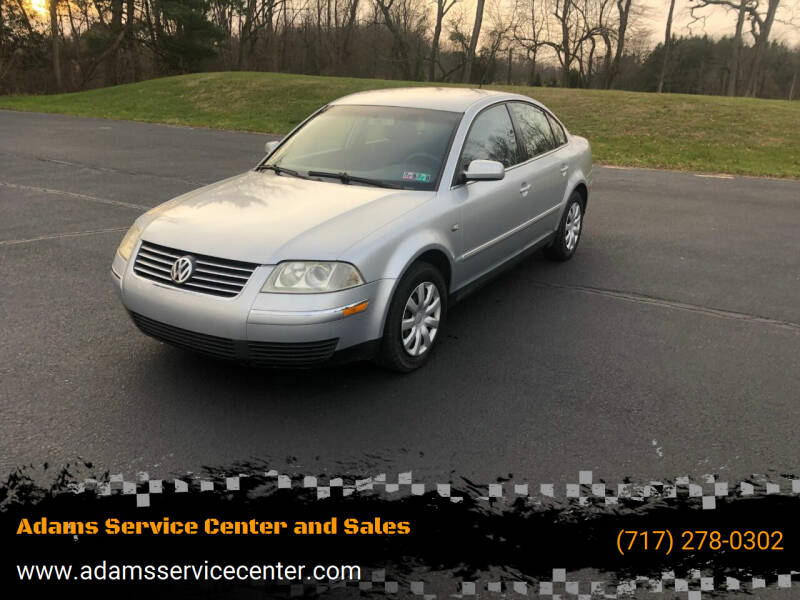 2003 Volkswagen Passat for sale at Adams Service Center and Sales in Lititz PA
