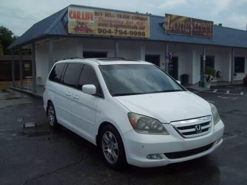 2006 Honda Odyssey for sale at LONGSTREET AUTO in Saint Augustine FL