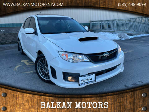2013 Subaru Impreza for sale at BALKAN MOTORS in East Rochester NY