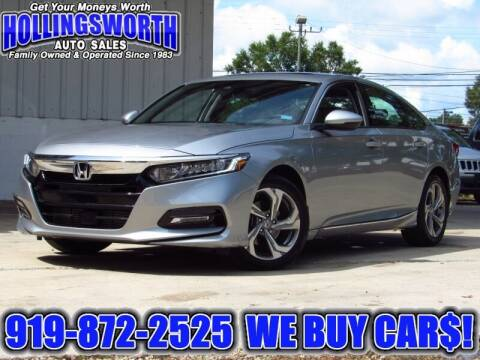 2019 Honda Accord for sale at Hollingsworth Auto Sales in Raleigh NC