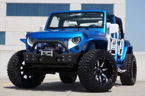 2016 Jeep Wrangler Unlimited for sale at JD MOTORS in Austin TX