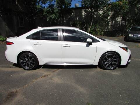 2020 Toyota Corolla for sale at Nutmeg Auto Wholesalers Inc in East Hartford CT