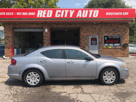 2013 Dodge Avenger for sale at Red City  Auto in Omaha NE