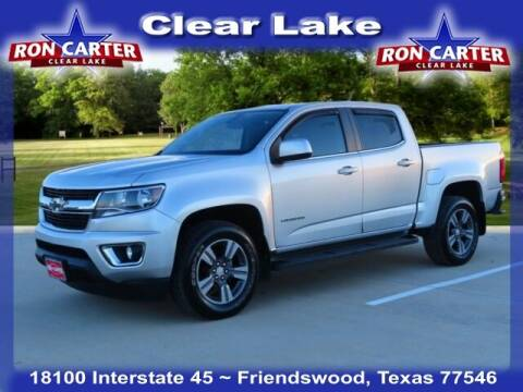 2016 Chevrolet Colorado for sale at Ron Carter  Clear Lake Used Cars in Houston TX