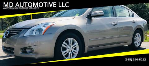 2011 Nissan Altima for sale at MD AUTOMOTIVE LLC in Slidell LA