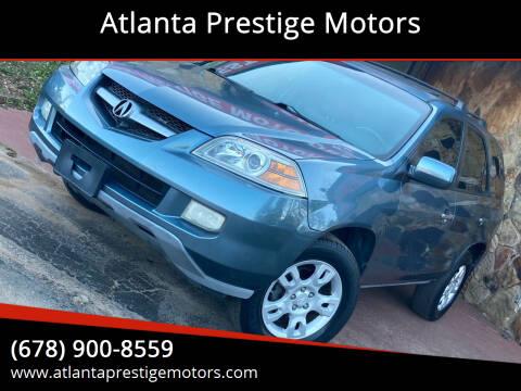 2005 Acura MDX for sale at Atlanta Prestige Motors in Decatur GA