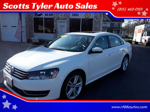 2014 Volkswagen Passat for sale at Scotts Tyler Auto Sales in Wilmington IL