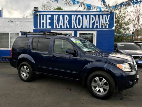 2010 Nissan Pathfinder for sale at The Kar Kompany Inc. in Denver CO