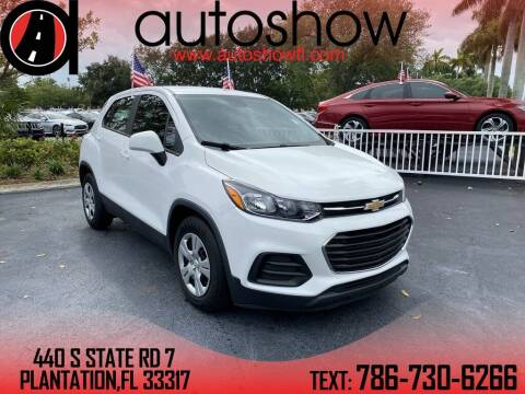 2017 Chevrolet Trax for sale at AUTOSHOW SALES & SERVICE in Plantation FL