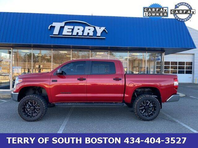 2017 Toyota Tundra for sale at Terry of South Boston in South Boston VA