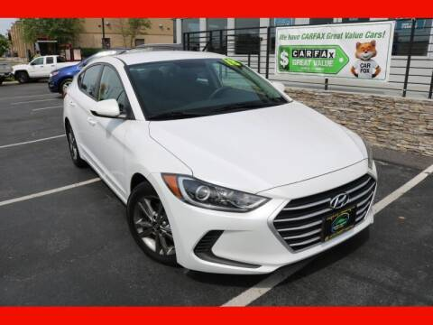 2018 Hyundai Elantra for sale at AUTO POINT USED CARS in Rosedale MD