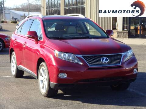2012 Lexus RX 350 for sale at RAVMOTORS 2 in Crystal MN