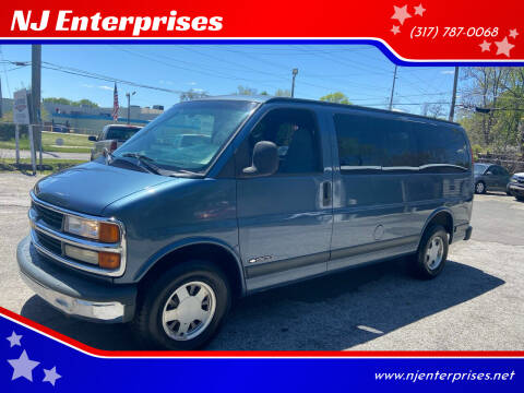 1999 Chevrolet Express Passenger for sale at NJ Enterprises in Indianapolis IN