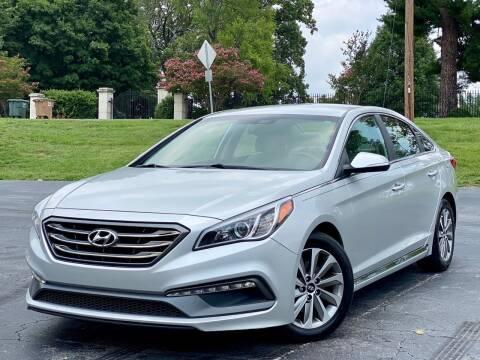 2016 Hyundai Sonata for sale at Sebar Inc. in Greensboro NC