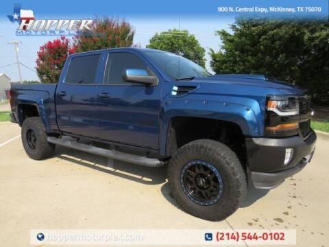 2016 Chevrolet Silverado 1500 for sale at HOPPER MOTORPLEX in Mckinney TX