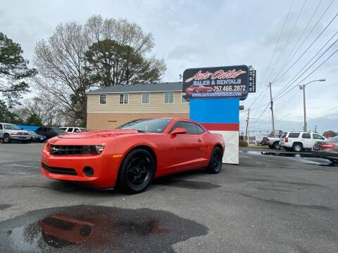 2013 Chevrolet Camaro for sale at Auto Outlet Sales and Rentals in Norfolk VA