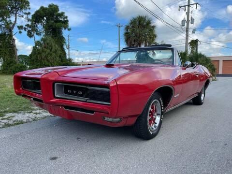 1968 Pontiac GTO for sale at American Classics Autotrader LLC in Pompano Beach FL