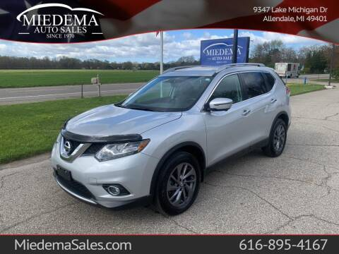 2016 Nissan Rogue for sale at Miedema Auto Sales in Allendale MI