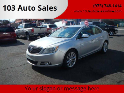 2012 Buick Verano for sale at 103 Auto Sales in Bloomfield NJ