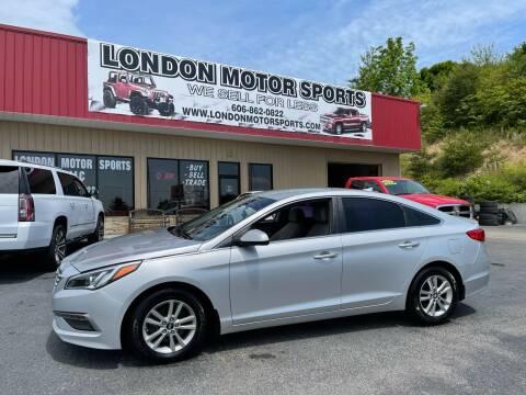 2015 Hyundai Sonata for sale at London Motor Sports, LLC in London KY