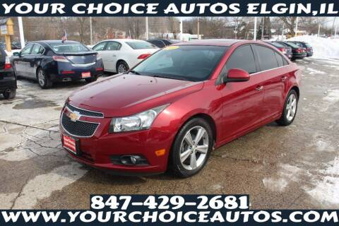 2012 Chevrolet Cruze for sale at Your Choice Autos - Elgin in Elgin IL