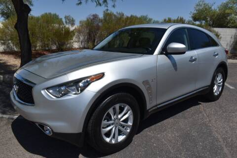 2017 Infiniti QX70 for sale at AMERICAN LEASING & SALES in Tempe AZ
