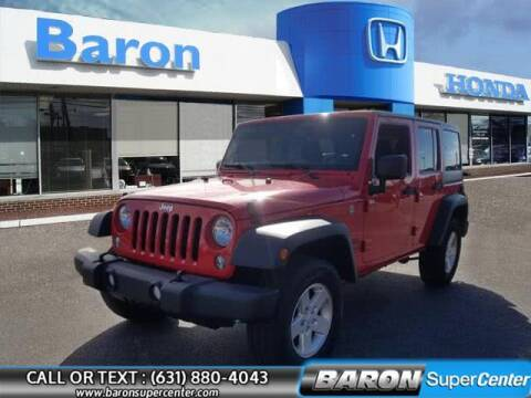 2017 Jeep Wrangler Unlimited for sale at Baron Super Center in Patchogue NY