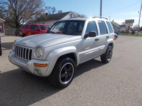 2002 Jeep Liberty for sale at Jenison Auto Sales in Jenison MI