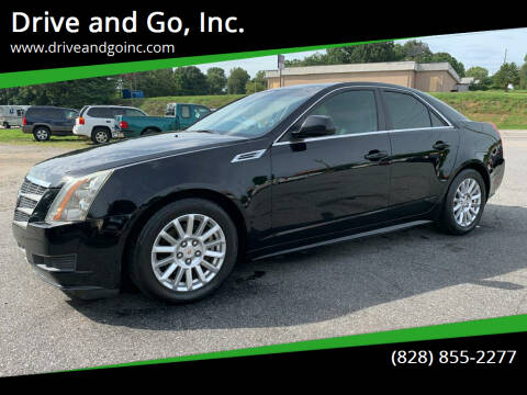 2010 Cadillac CTS for sale at Drive and Go, Inc. in Hickory NC