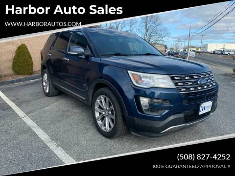 2016 Ford Explorer for sale at Harbor Auto Sales in Hyannis MA
