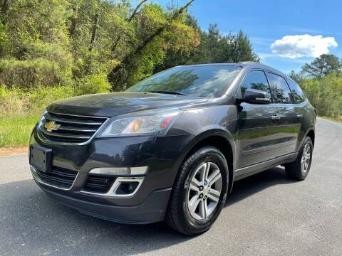 2015 Chevrolet Traverse for sale at Carrera AutoHaus Inc in Clayton NC