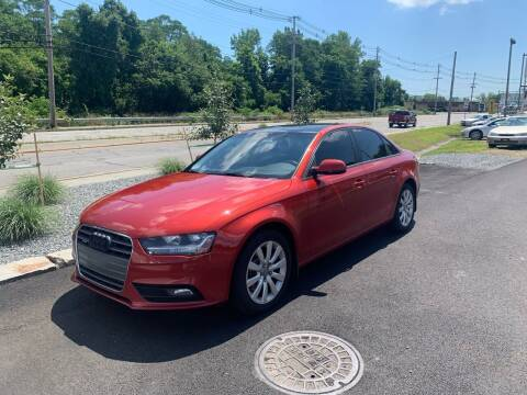 2014 Audi A4 for sale at Atlantic AutoCenter in Cranston RI