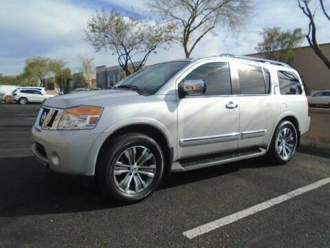 2015 Nissan Armada for sale at COPPER STATE MOTORSPORTS in Phoenix AZ