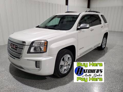 2016 GMC Terrain for sale at Hatcher's Auto Sales, LLC - Buy Here Pay Here in Campbellsville KY