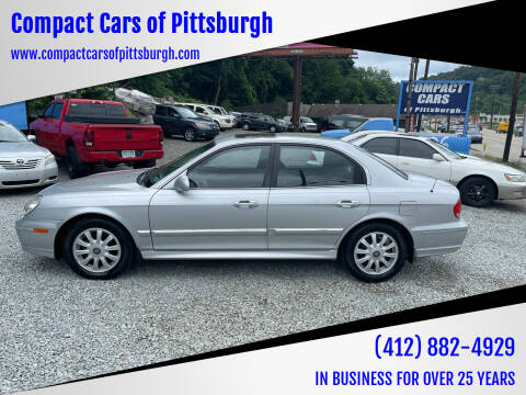 2003 Hyundai Sonata for sale at Compact Cars of Pittsburgh in Pittsburgh PA