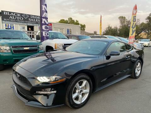 2018 Ford Mustang for sale at Black Diamond Auto Sales Inc. in Rancho Cordova CA